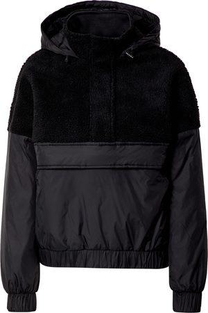 Urban classics Overgangsjakke 'Ladies Sherpa Mix Pull Over Jacket