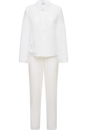 AG Silk Blend Satin Pajama Set