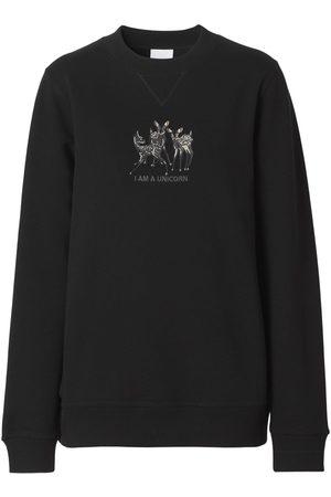 Burberry Berkley Jersey Printed Sweatshirt