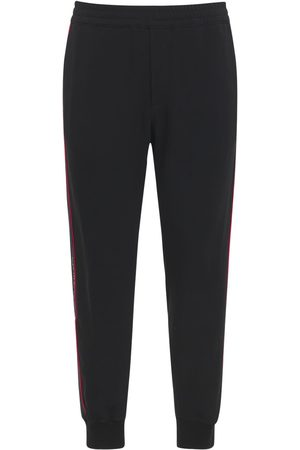 Alexander McQueen Techno Jogging Pants W/logo Tape