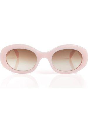 Céline Kvinder Solbriller - Oval acetate sunglasses