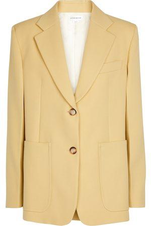Victoria Beckham Kvinder Blazere - Single-breasted wool blazer