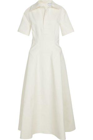 Bottega Veneta Kvinder Casual kjoler - Stretch-linen shirt dress