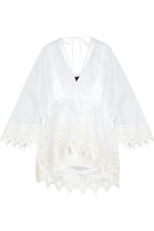 Loewe Paula's Ibiza cotton macramé shirt