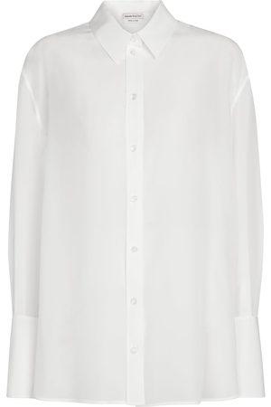 Alexander McQueen Silk chiffon shirt