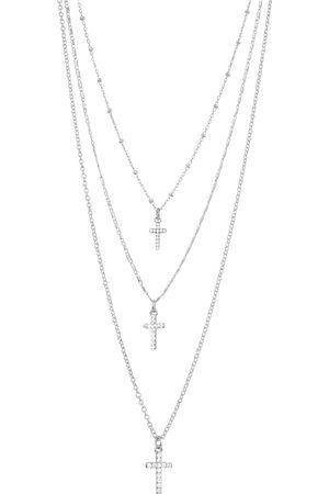 Dansk Copenhagen Kvinder Halskæder - Necklace Shimmer Cross