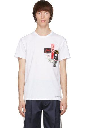 Alexander McQueen Mænd Kortærmede - White Labels T-Shirt