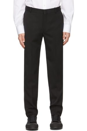 Alexander McQueen Black Sustainable Cavalry Twill Trousers