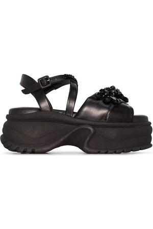 Simone Rocha Kvinder Pumps sandaler - Perledekorerede sandaler med plateau