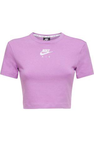 Nike Air Cotton Blend Crop Top