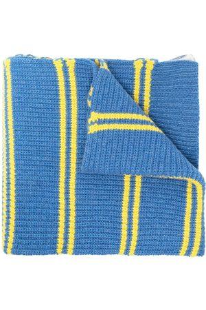 Marni Mænd Tørklæder - Halstørklæde i kraftig strik med to mønstre