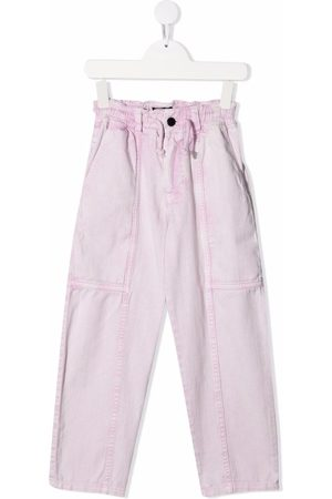 Le pandorine Light-wash straight leg jeans