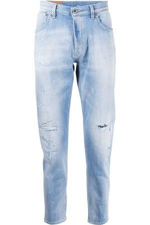 Dondup Jeans med lige ben og slitageeffekt