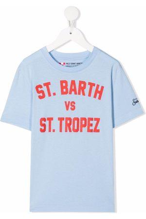 MC2 SAINT BARTH St Barth vs St Tropez T-shirt