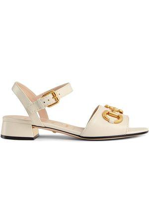 Gucci Kvinder Sandaler - Sandaler med spændelukning og Horsebit-rem