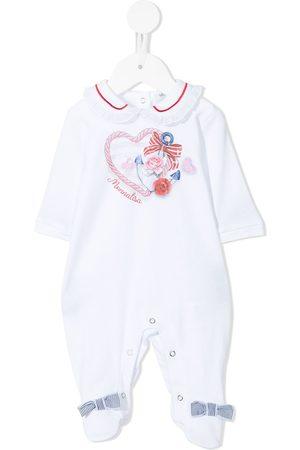 MONNALISA Pyjamas med anker og hjertetryk og logotryk