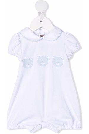 LITTLE BEAR Baby Bodies - Bodysuit med broderet peter pan-krave