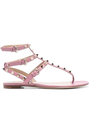 VALENTINO GARAVANI Flade sandaler med Rockstud-udsmykning
