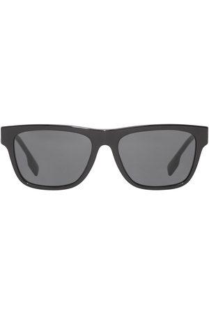 Burberry Firkantede briller med logodetalje