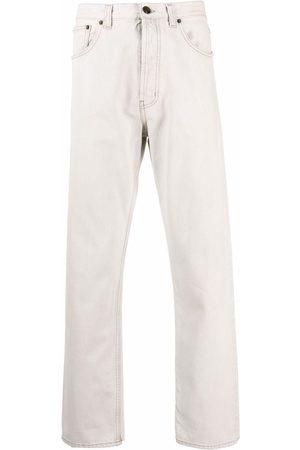 Saint Laurent Jeans med lige ben og mellemhøj talje