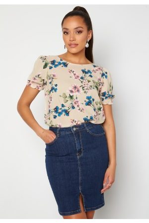 Object Paree S/S Top Sandshell / Flower 42