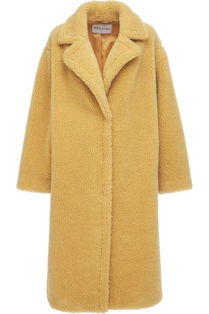 STAND STUDIO Maria Faux Fur Teddy Coat
