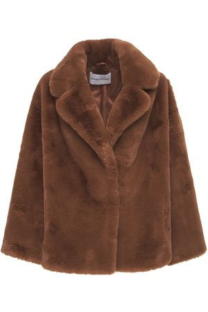 Stand Studio Savannah Lush Faux Fur Jacket