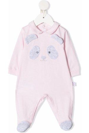Il gufo Baby Pyjamas - Pyjamas med panda-mærke
