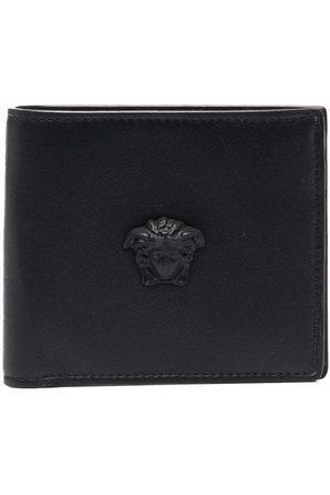 Versace Medusa motif leather wallet