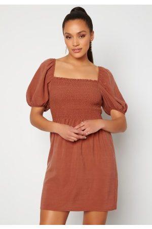 Trendyol Smock S/S Dress Kiremit/Brick 34