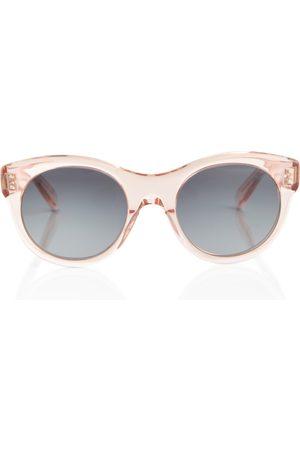 Céline Round acetate sunglasses