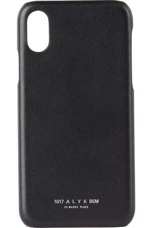 1017 ALYX 9SM Black iPhone XR Case