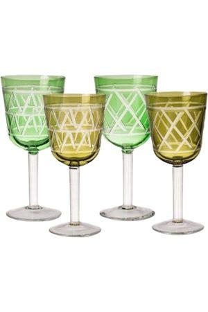 Pols Potten Mænd Slips - Wine Glass Tie up Set 4