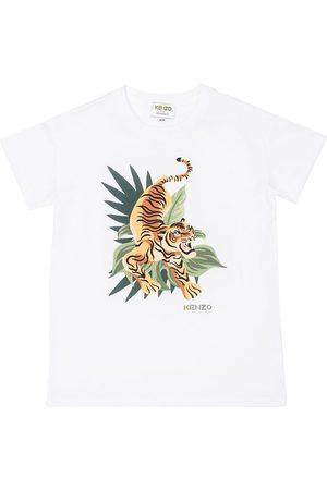 Kenzo Kortærmede - T-shirt - m. Tiger/Jungle