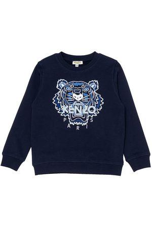 Kenzo Sweatshirt - Navy/Mint m. Tiger