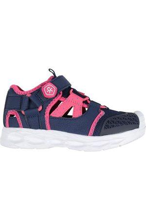 Color Kids Sandaler - Sandal - Sporty m. Velcro - Honeysuckle