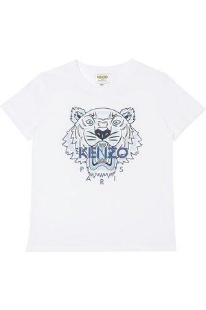Kenzo Kortærmede - T-shirt - /Blå m. Tiger