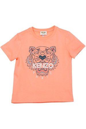 Kenzo Kortærmede - T-shirt - Salmon/ m. Tiger