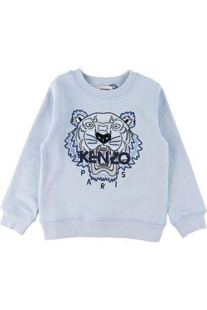 Kenzo Sweatshirts - Sweatshirt - Pale Blue/Navy m. Tiger
