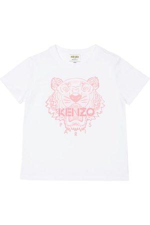 Kenzo Kortærmede - T-shirt - /Rosa m. Tiger