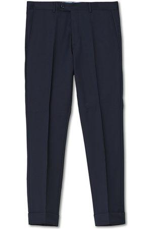 Morris Mænd Habitbukser - Prestige Suit Trousers Navy