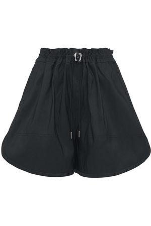 Alexander McQueen Kvinder Shorts - Faille Mini Shorts