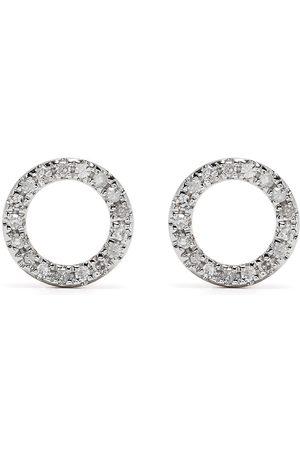 DJULA Mænd Øreringe - øreringe i 18 karat rødguld med diamanter