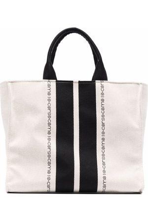 10 CORSO COMO Mænd Stofposer - Logo-print tote bag