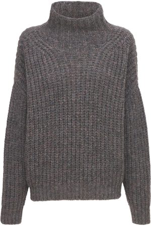 Isabel Marant Iris Turtleneck Alpaca Wool Knit Sweater