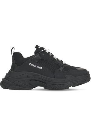 BALENCIAGA Triple S Tech & Mesh Sneakers
