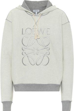 Loewe Anagram reversible cotton hoodie