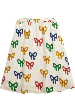 Mini Rodini Bow printed lyocell skirt