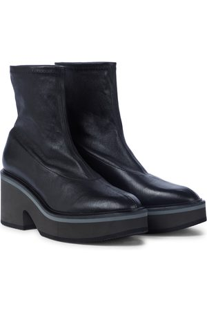 Robert Clergerie Albane leather sock boots