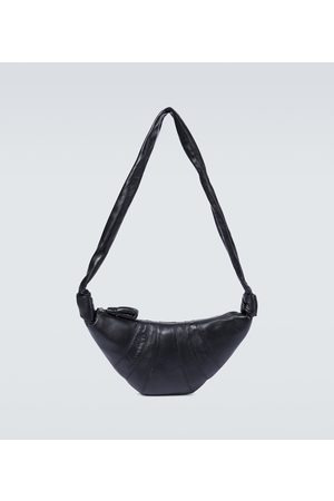 LEMAIRE Croissant leather bag